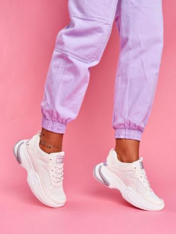 Pantofi sport cod ABC-315 White
