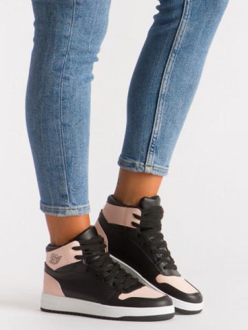 Pantofi sport cod AJ18 Black/Pink