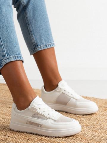 Pantofi sport cod AJ802 White