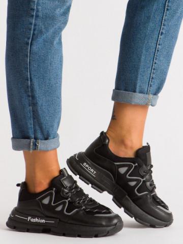 Pantofi sport cod B05 Black