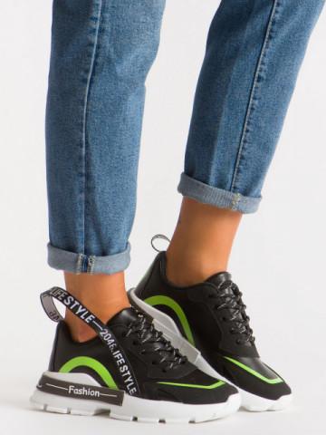 Pantofi sport cod B07 Black