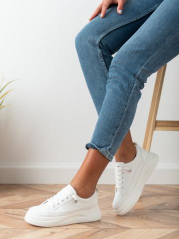 Pantofi sport cod C03 White