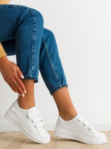 Pantofi sport cod C257 White/Silver