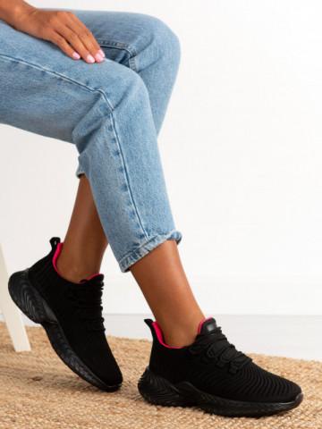 Pantofi sport cod DS8305 Black