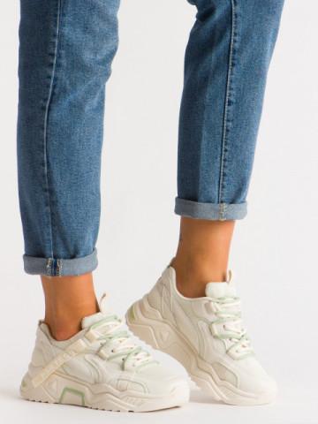 Pantofi sport cod K06 Beige