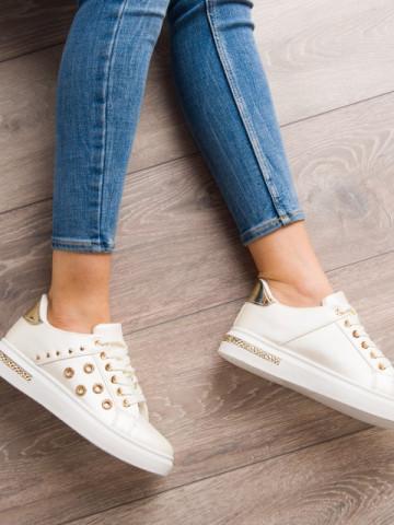 Pantofi sport cod KB072 White