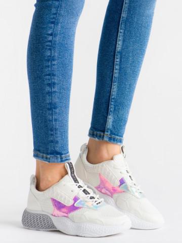 Pantofi sport cod KR-010 White