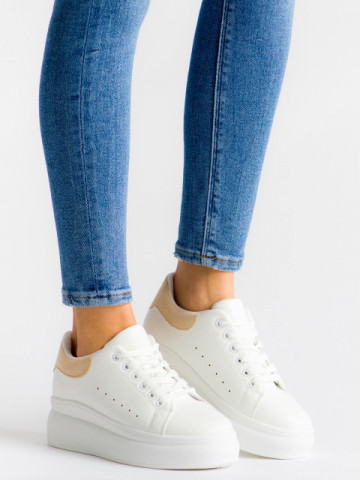 Pantofi sport cod LV102 Beige