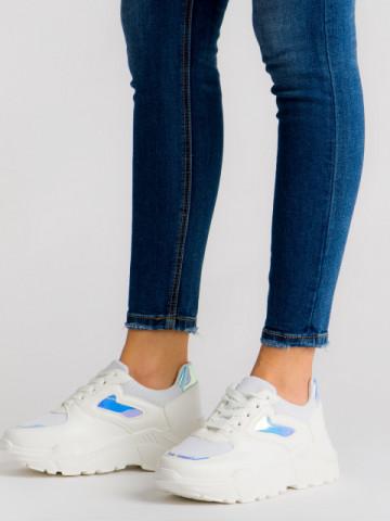 Pantofi sport cod ML1913 White