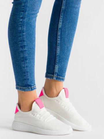 Pantofi sport cod MS-2 White/Rose