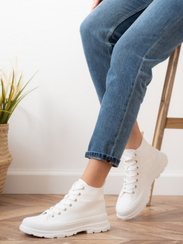 Pantofi sport cod S012 White