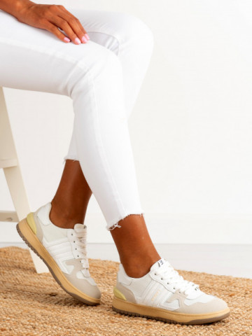 Pantofi sport cod S02 White