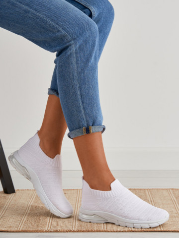 Pantofi sport cod S502 White