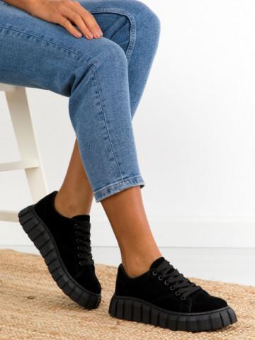 Pantofi sport cod SO62 Black