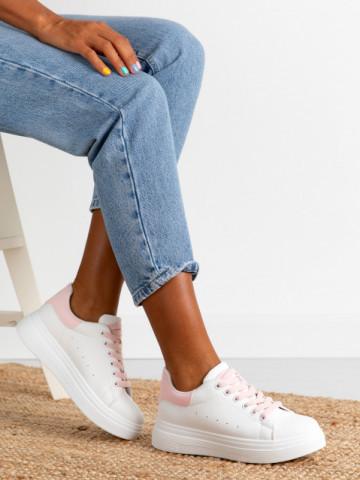 Pantofi sport cod X-2931 White/Pink