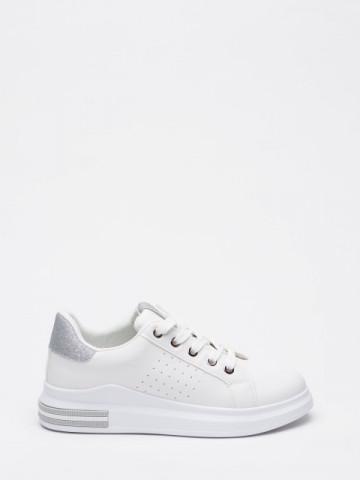 Pantofi sport cod YKQ197 White/Silver