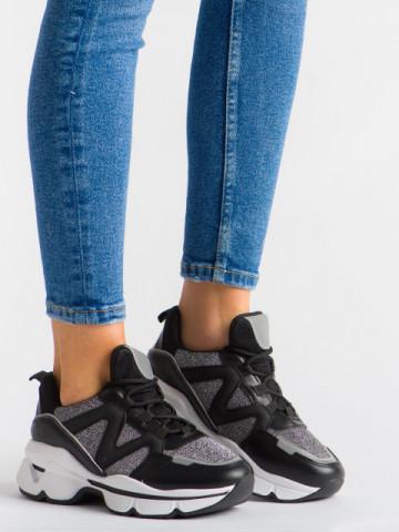 Pantofi sport cod YKQ212 Black