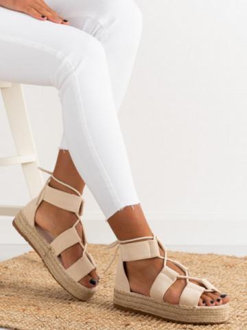 Sandale cod 6629 Beige