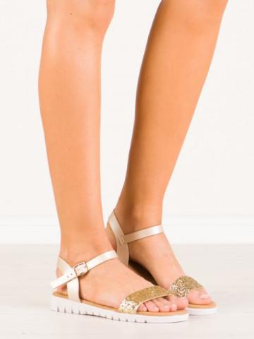 Sandale cod B21 Beige