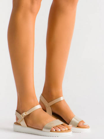 Sandale cod B35 Beige