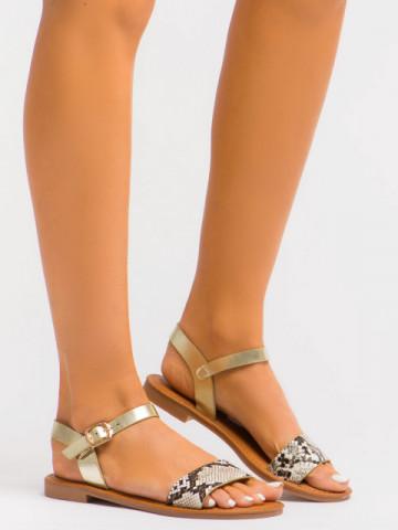 Sandale cod C1078 Beige
