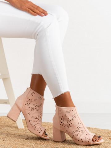 Sandale cu toc cod BL00092 Pink