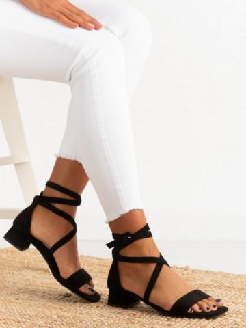 Sandale cu toc cod FB0067 Black