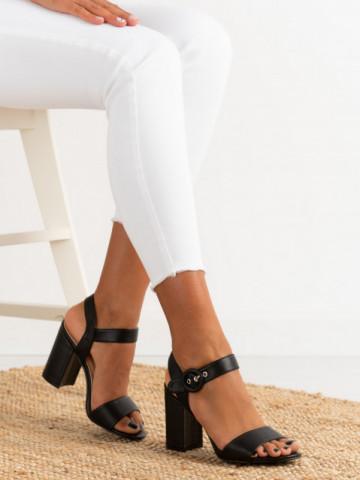 Sandale cu toc cod H783 Black