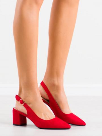 Sandale cu toc cod LL206 Red