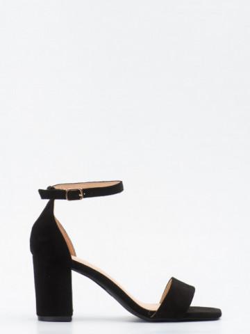 Sandale cu toc cod LL244 Black