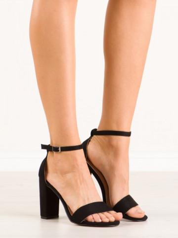 Sandale cu toc cod OD0311 Black