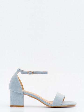 Sandale cu toc cod SK73 Blue