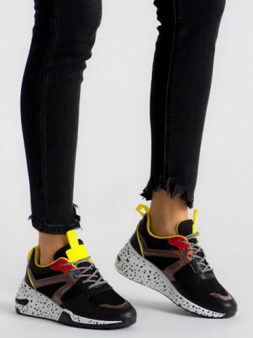Pantofi sport cod ABC-317 Black