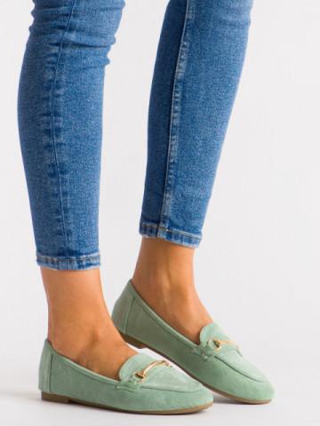 Pantofi casual cod 88-385 Green