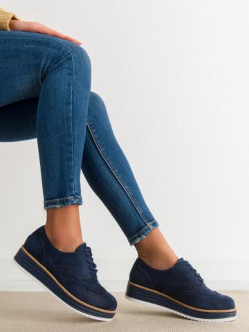 Pantofi casual cod 8998-46 Blue
