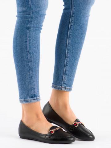 Pantofi casual cod 9F177 Black