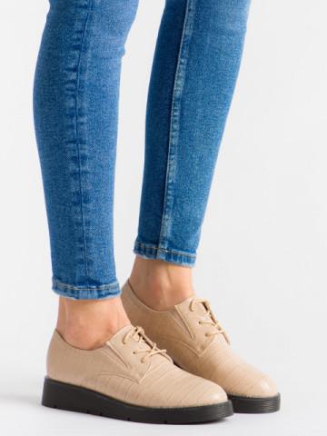 Pantofi casual cod EK0090 Beige