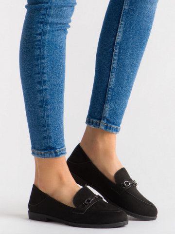 Pantofi casual cod H111 Negro