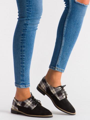 Pantofi casual cod WG0046 Black