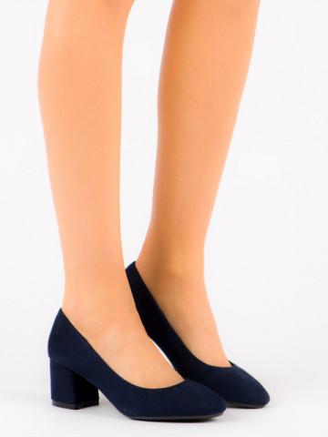 Pantofi cu toc cod FM1089 Blue