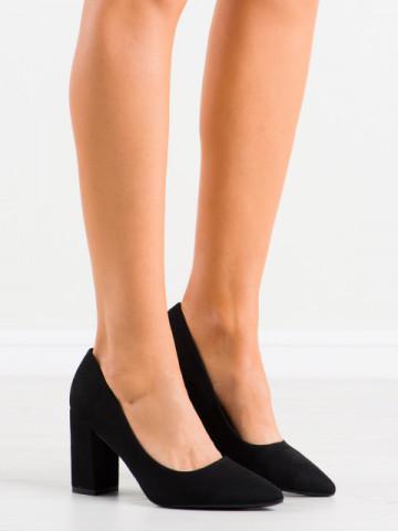 Pantofi cu toc cod GG74 Black
