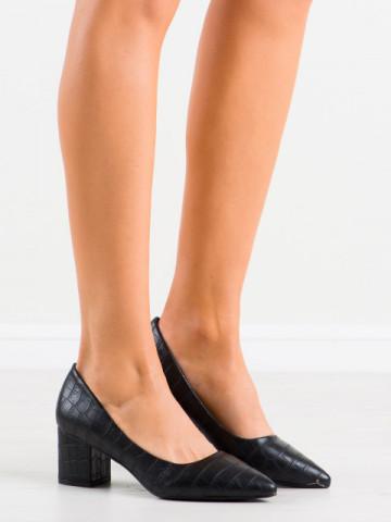 Pantofi cu toc cod GG93 Black