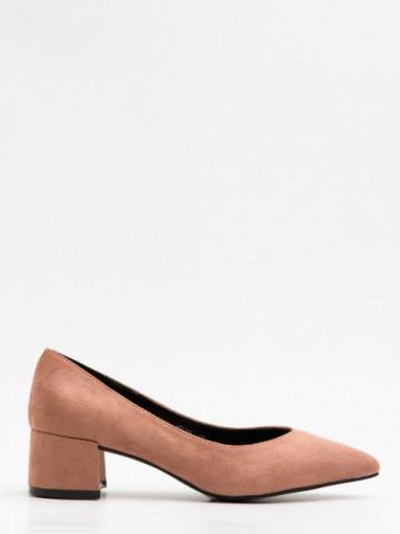 Pantofi cu toc cod JF670 Pink