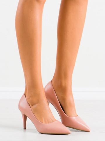 Pantofi cu toc cod K302 Nude