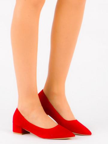 Pantofi cu toc cod LU0013 Red