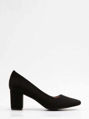 Pantofi cu toc cod X21-731 Black