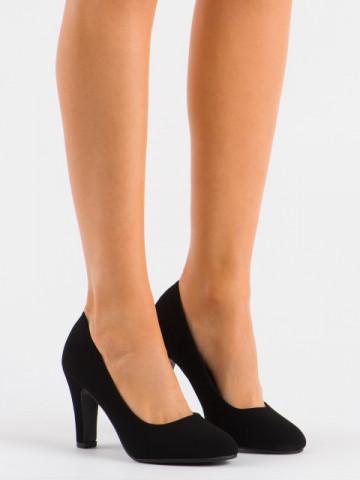 Pantofi cu toc cod YXD3 Black