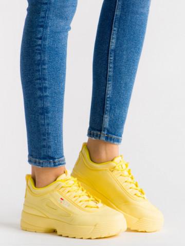 Pantofi sport ABC-305 Yellow