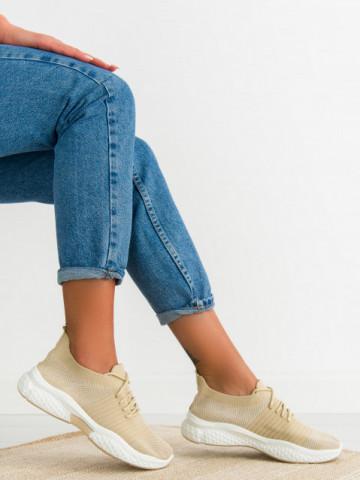 Pantofi sport cod 0105-5 Beige