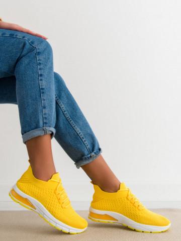 Pantofi sport cod 0119-2 Yellow